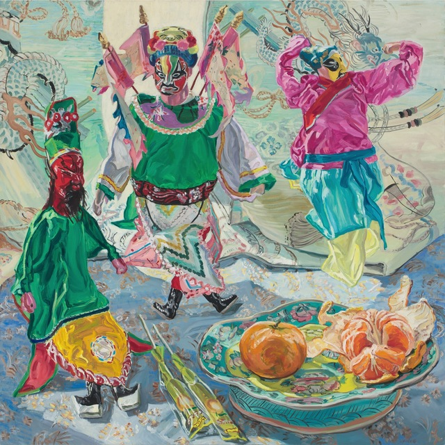Janet Fish, 'Chinese Puppets', 1988, DC Moore Gallery