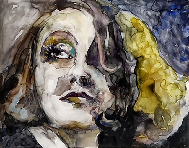 ", '""Life would be so wonderful if we only knew what to do with it."" -- Greta Garbo,' 2017, Ro2 Art"