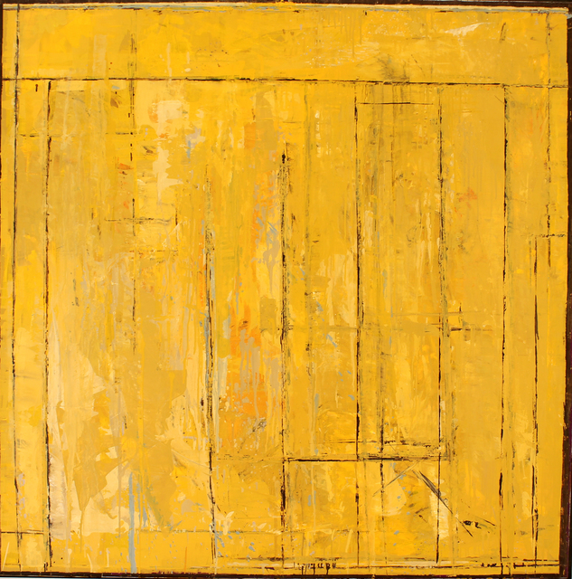 , 'Wall Street #3 - yellow ochre,' , Studio 21 Fine Art