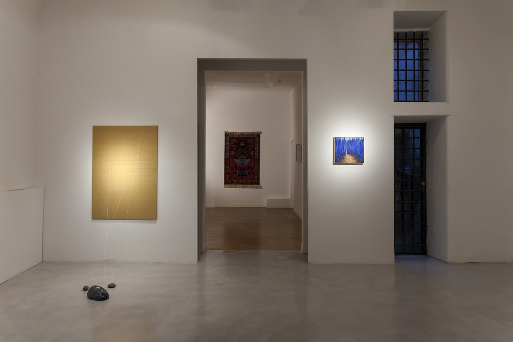 "Installation view ""Five Years"" Faig Ahmed, Lucilla Candeloro, Alia Scalvini"