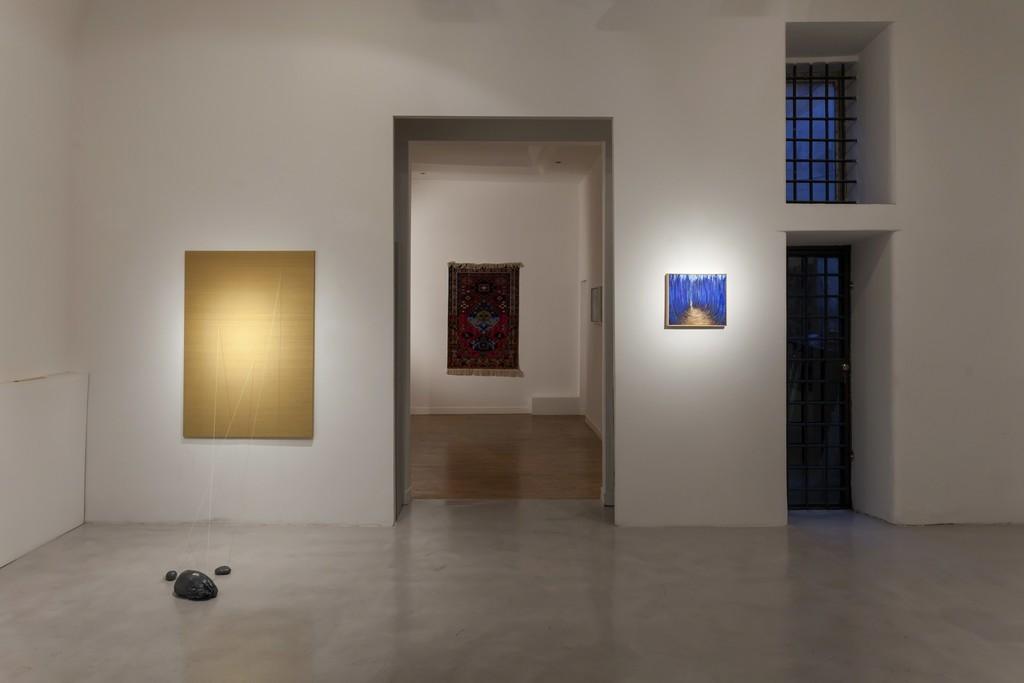 """Installation view """"Five Years"""" Faig Ahmed, Lucilla Candeloro, Alia Scalvini"""