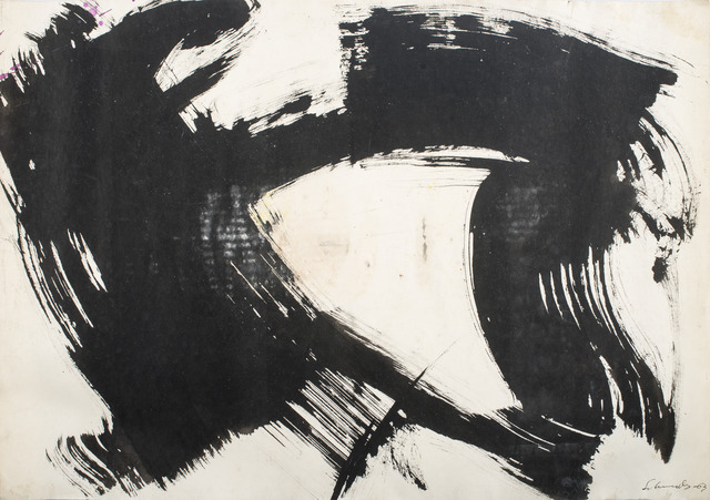 , 'Untitled,' 1963, Galerie Diane de Polignac & Chazournes