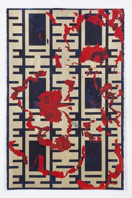 Kendell Geers, 'Les Fleurs du Mal 1068', 2018, Galerie Ron Mandos