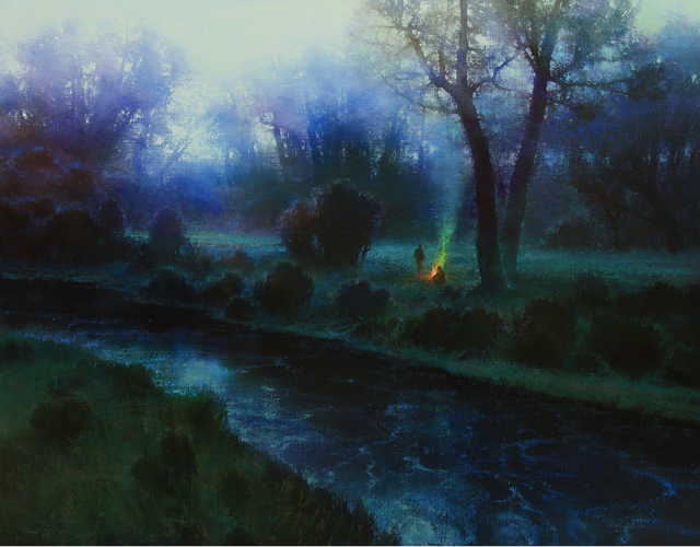 , 'CREEKSIDE DUSK,' 2016, Trailside Galleries