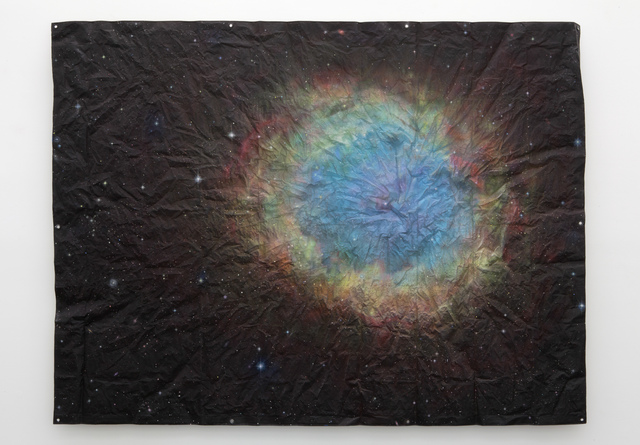 , 'Untitled (Cosmos Tarp, Supernova),' 2015, 303 Gallery