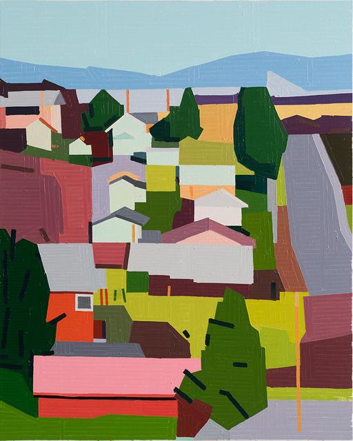 , ''America',' 2018, Flatland Gallery