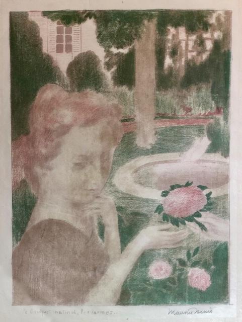 Maurice Denis, 'Bouquet matinal, les larmes', 1898, Theodore B. Donson Ltd.