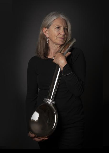 Chris Bird-Jones, 'Silver Spoon 3', 2020, Design/Decorative Art, Blown lead free crystal glass, silvered, Ruthin Craft Centre