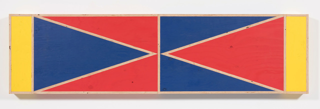 , 'Transitional Geometry in Red, Yellow and Blue (Figure 40),' 2018, Steve Turner