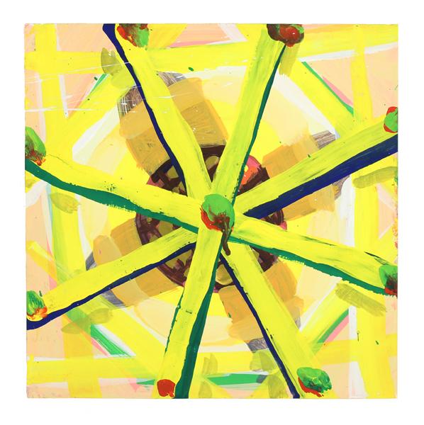 , 'Yellow Wheel,' 2018, Rick Wester Fine Art
