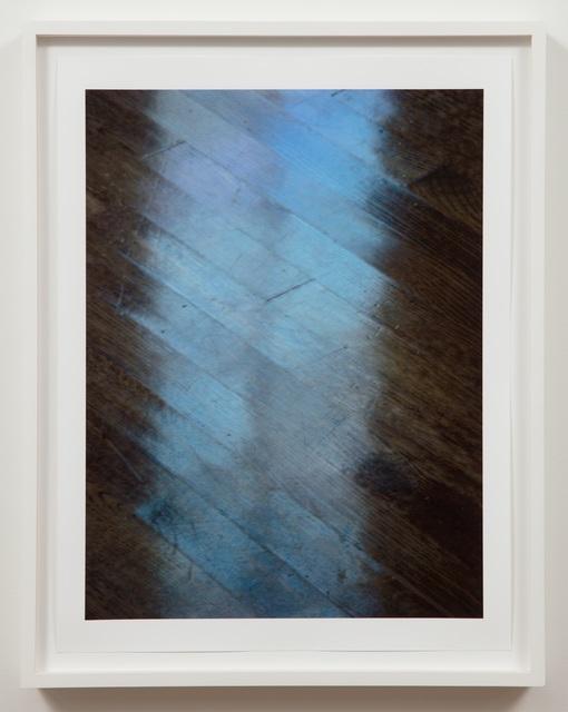Jim Hodges, 'Even Here (Double Blue)', 2008, Aspen Art Museum Benefit Auction