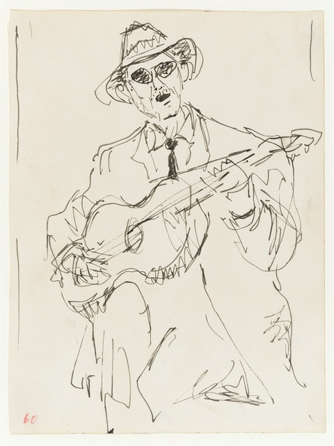 , 'The Guitarist,' 1960, Osborne Samuel