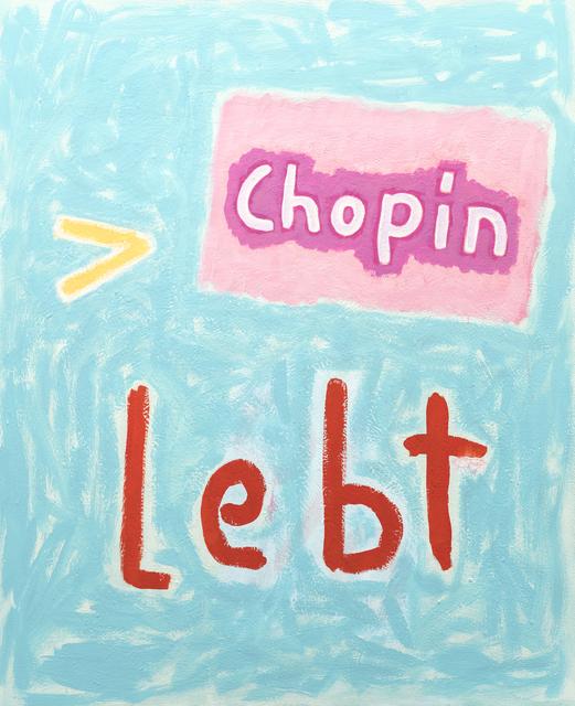 C.O. Paeffgen, 'o.T. (Chopin lebt)', 2003, Ruttkowski;68