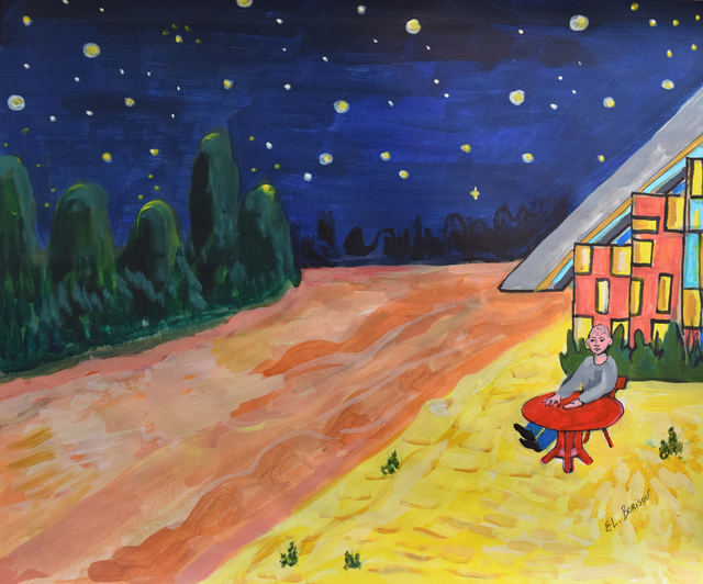 , 'Starry Night in Mexico,' 2016, Fountain House Gallery