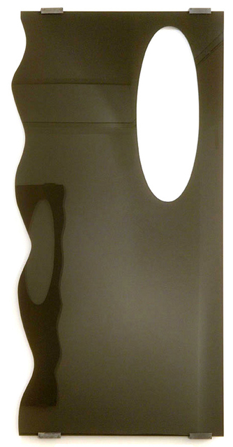 , 'Untitled (black door),' 2005, Galleri Susanne Ottesen