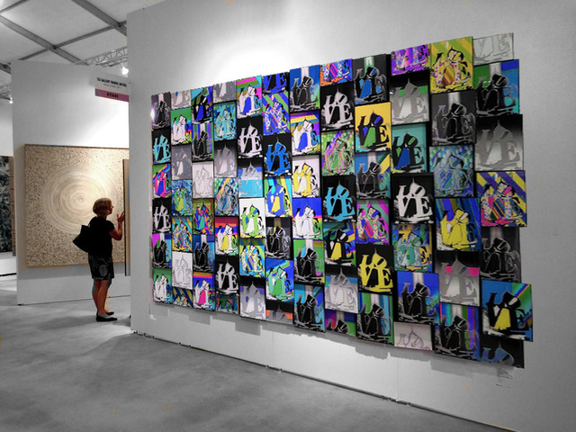 , 'Love Quilt 3-D,' 2018, Analog Contemporary