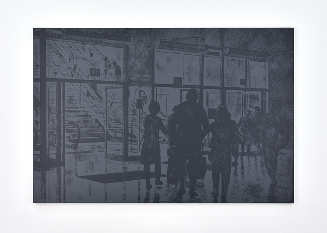 , 'Untitled (escalator),' 2017, PRAZ-DELAVALLADE