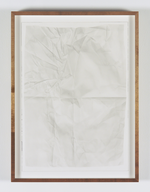 , 'Sancerre at Home (Paper Drawing #21 Recto),' 2014, Vanessa Albury + Rachel Rampleman + Lynn Maliszewski