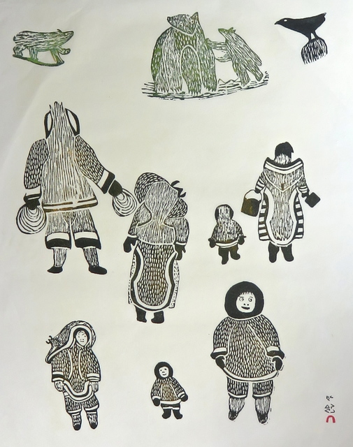 , 'Winter Scene,' 1967, Arctic Experience McNaught Gallery