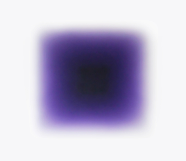, 'Violet Puff,' 2014, Peter Blake Gallery