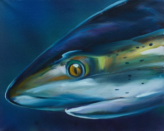 , 'Blue Shark 2,' 2016, Rosamund Felsen Gallery