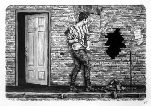 , 'Voie de contournement,' 2019, Urban Spree Galerie