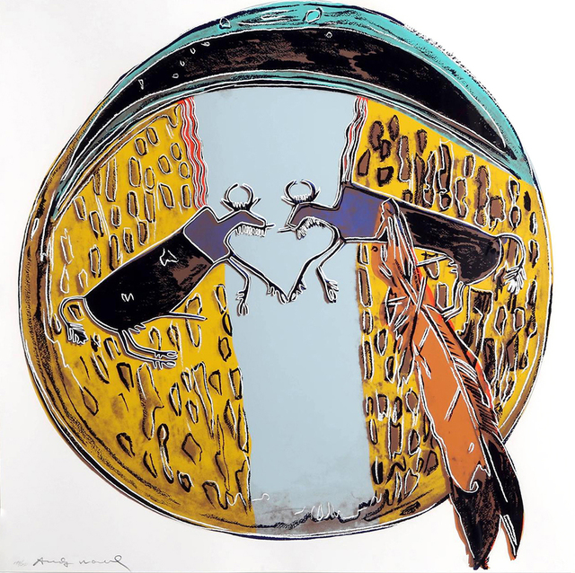 Andy Warhol, 'PLAINS INDIAN SHIELD FS II.382', 1986, Gallery Art