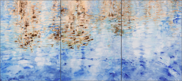 Betty Jo Costanzo, 'Crab Cove #10 #11 #12 / Triptych oil on panel ', 2018, Andra Norris Gallery