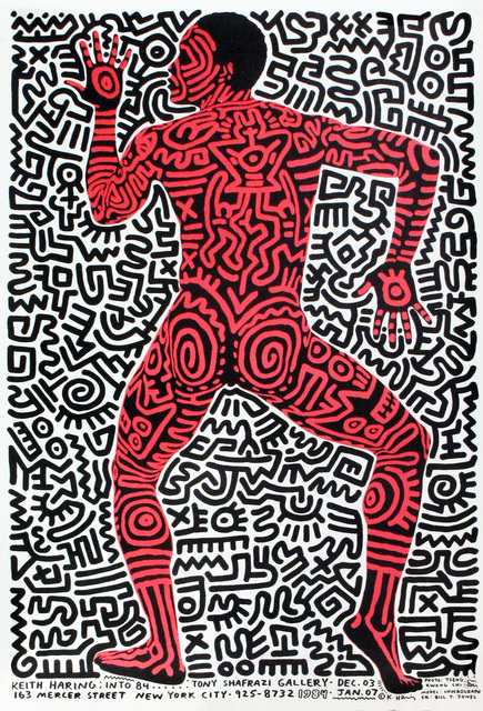 Keith Haring, 'Tony Shafrazi 1984 Exhibition Announcement', 1984, Woodward Gallery