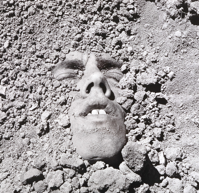 , 'Untitled (Face in Dirt),' 1991/2018, P.P.O.W