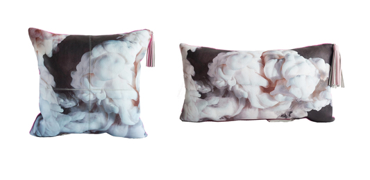 Abstract Leather Pillows