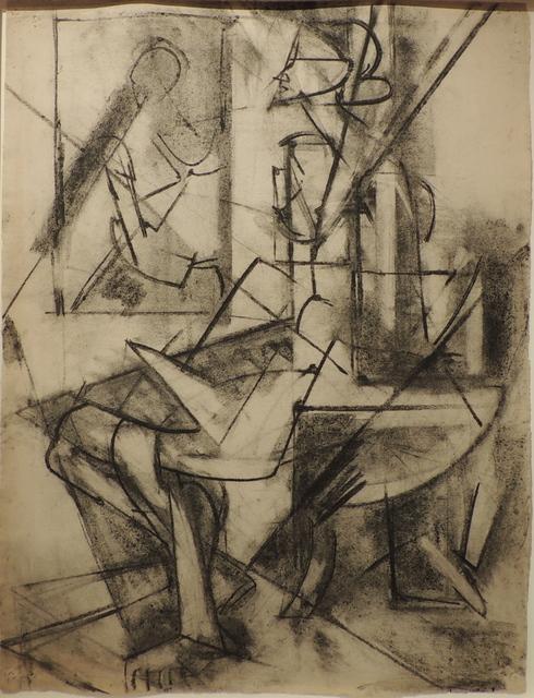 , 'Untitled (Seated Figure),' ca. 1946, Mark Borghi Fine Art