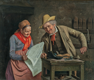 The Old Cobbler and His Wife