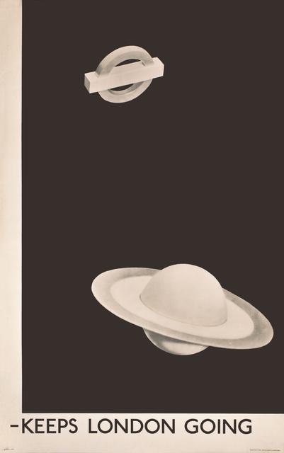 , 'LONDON UNDERGROUND - KEEPS LONDON GOING,' 1938, Omnibus Gallery