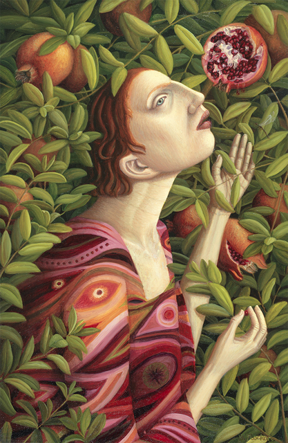 , 'Plucking Pomegranates,' 2017, Arusha Gallery