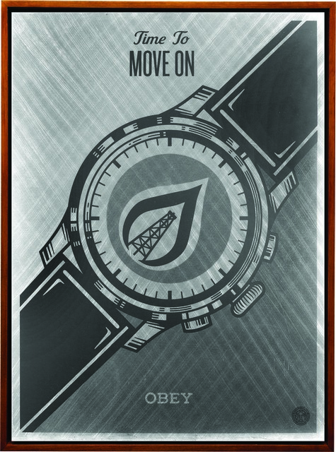 Shepard Fairey (OBEY), 'Time To Move On', 2015, Underdogs Gallery