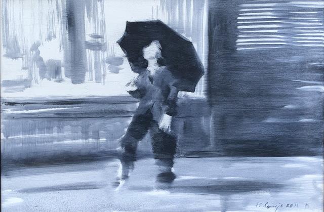 Luis Enrique Camejo, 'Bailando Bajo la Lluvia (Dancing in the Rain)', 2011, Discoveries In Art