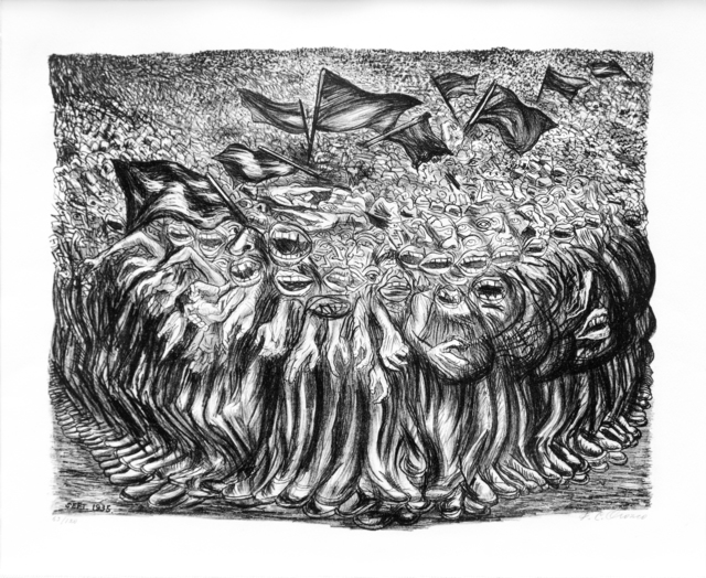 """, '""""Las Masas"""",' 1935, Galería Nudo"""