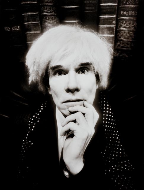 David LaChapelle, 'Andy Warhol: Last Sitting, November 22', 1987, Phillips