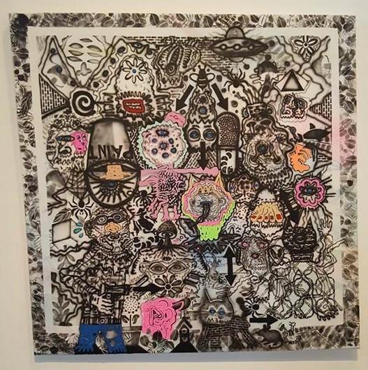 , 'Paint 1000,' 2016-2017, Ro2 Art