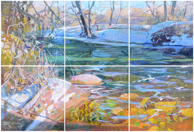 , 'Prism Creek (Hexaptych),' 2014, Gallery 1261
