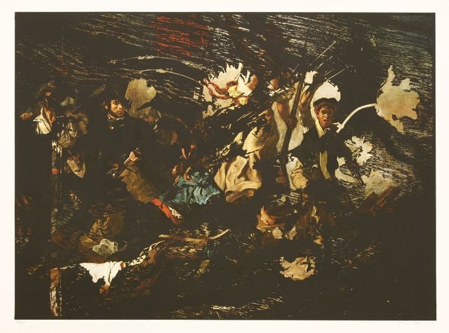 Mat Collishaw, 'Mayday', 2016, Print, Archival pigment print and relief print in colours, Sworders