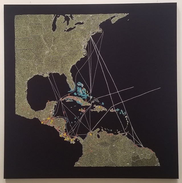 , 'El Pulpo: UFCo's Great White Fleet routes and properties in Central America & the Caribbean,' 2019, Tyler Rollins Fine Art