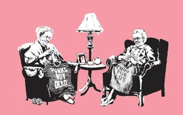 Banksy, 'Grannies (unsigned)', 2006, Robin Rile Fine Art