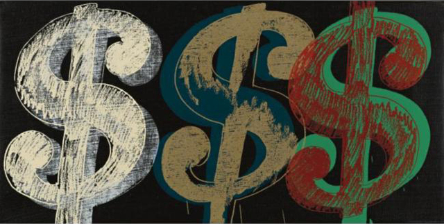 Andy Warhol, 'Triple Dollar Sign', 1981, Joseph K. Levene Fine Art, Ltd.