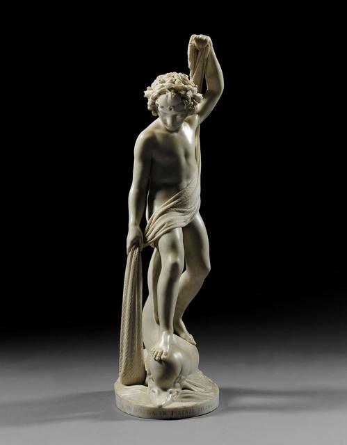 , 'Il Genio Della Pesca,' 1864, Taylor   Graham
