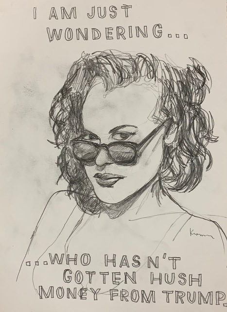 , 'Hush Money,' 2018, MULHERIN