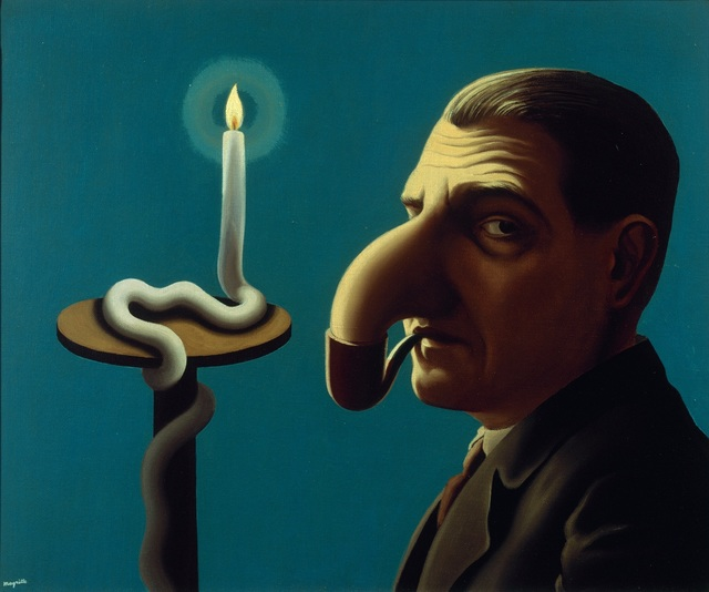 , 'La Lampe philosophique,' 1936, Centre Pompidou