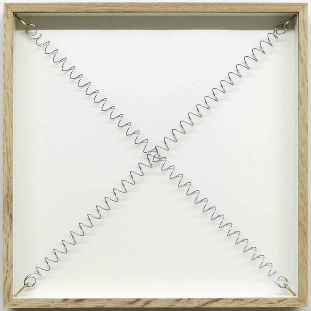 , 'tight framed cross,' 2017, Loom Gallery