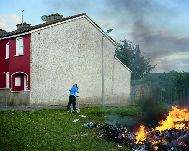 , 'Bonfire I, Russell Heights, Cobh, Ireland,' 2011, Aperture Foundation